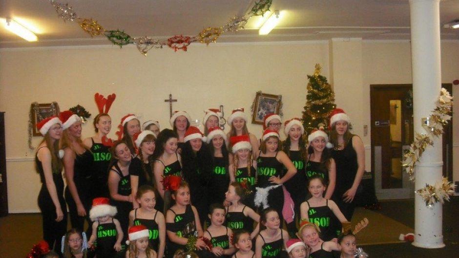 Hamilton School of Dance visit Nazareth House Glasgow