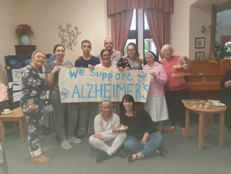 We support Alzheimer's!