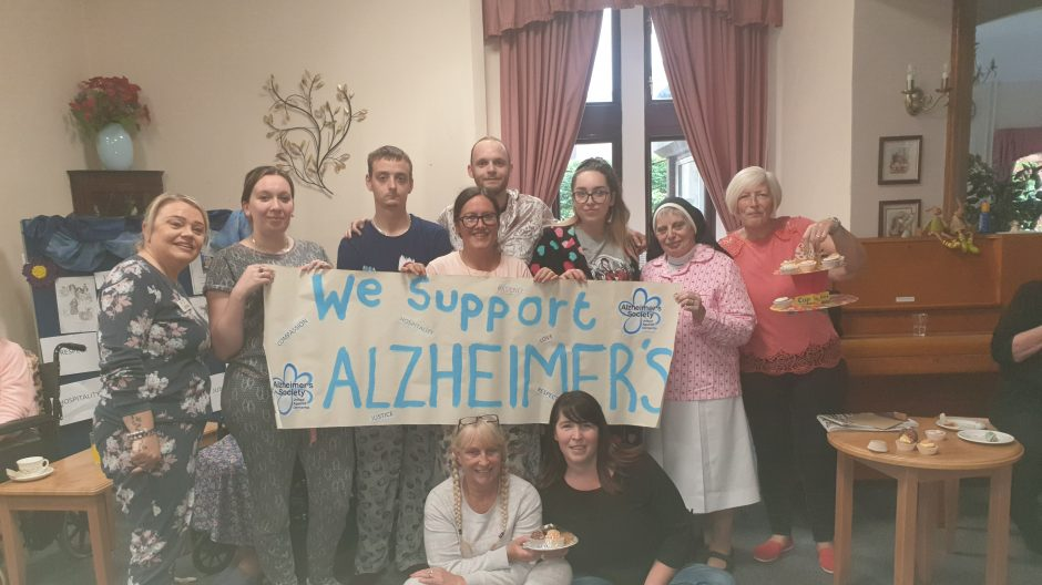 We support Alzheimer's!