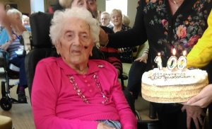 Anne Kelly's 100th Birthday