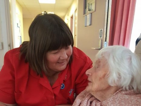 A big welcome to our new resident, holding the title of the oldest person in Wales!