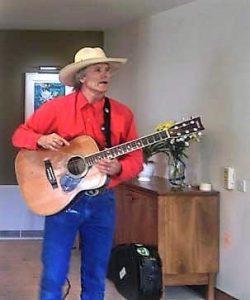 Cowboy visits Nazareth House Dublin