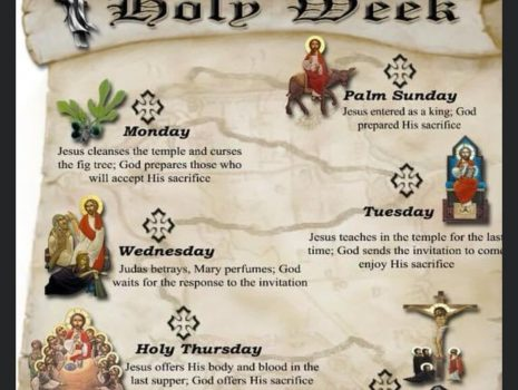 Holy Week and Easter in Nazareth Houses