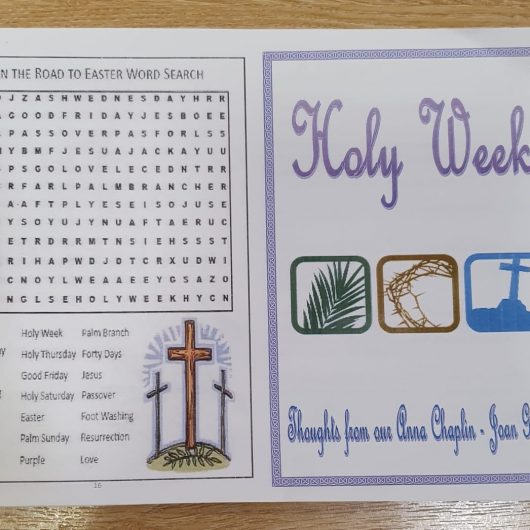 Holy Week booklets