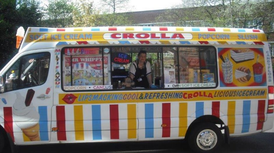 Ice Cream Van at Glasgow
