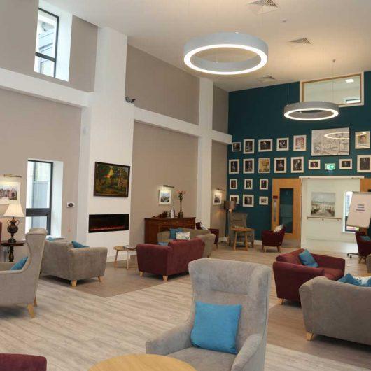 New lobby at Nazareth House Mallow