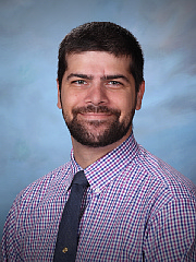 Head shot of male teacher