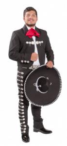 Man in Mariachi attire
