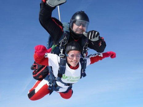 Natalie's Sky Dive