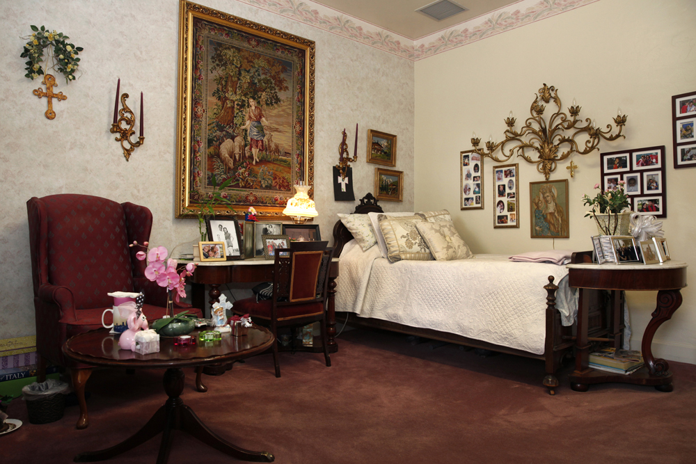 Nazareth House Fresno Living Spaces