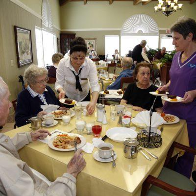 Nazareth House San Diego Fine Dining