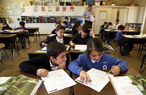 Nazareth School San Diego classroom