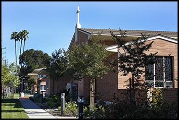 Exterior building Nazareth House Los Angeles CA USA
