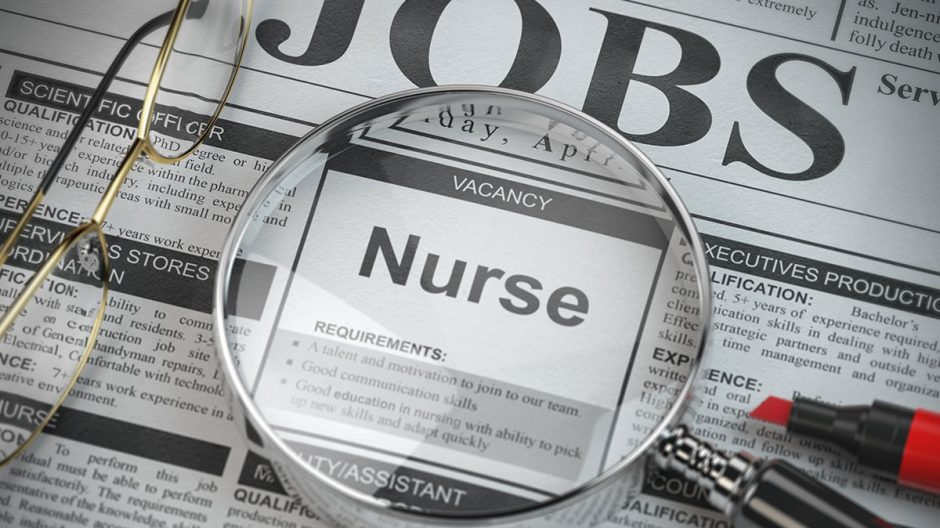 Permanent staff nurse required