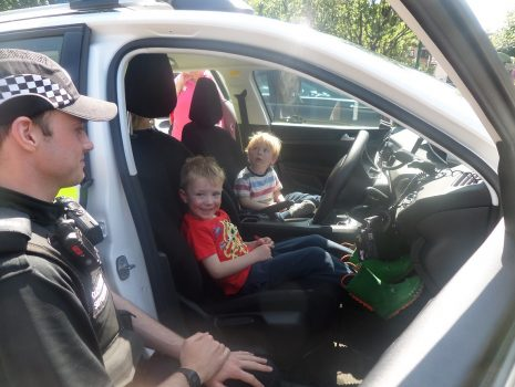 PCSO David Owen Police Visit