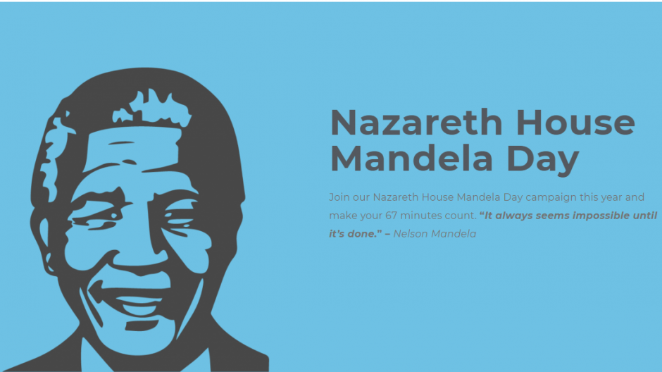 Nazareth Care Africa are running a campaign for Mandela Day