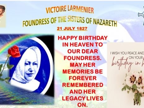 July 21st is the birthday of Victoire Larmenier