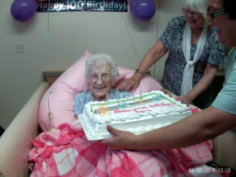 Agnes McGinn 100th Birthday