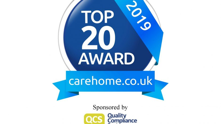 Top 20 Recommended Care Home 2019