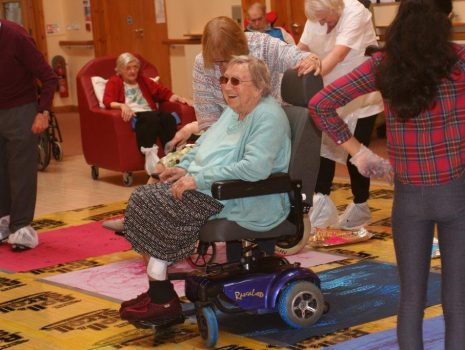 Wheelchair Painting at Manchester